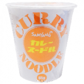 Лапша б\п Curry Noodle Samyang, Корея, 65 г