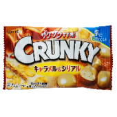 Хрустящие шоколадные шарики с карамелью и злаками Crunky Pop Joy Lotte, Япония, 32 г