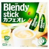 Кофе с молоком Blendy Stick AGF, Япония, 360 г (12 г х 30 шт.)