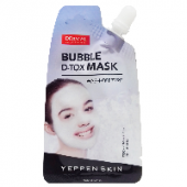 Очищающая маска для лица Bubble D-Tox Yeppen Skin Dermal, Корея, 20 г
