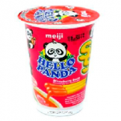 Печенье Stick Stick Strawberry Hello Panda Meiji, Япония, 20 г